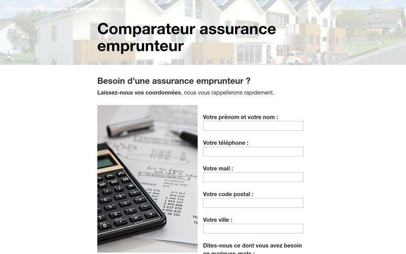 Economiser avec un comparateur d'assurance emprunteur
